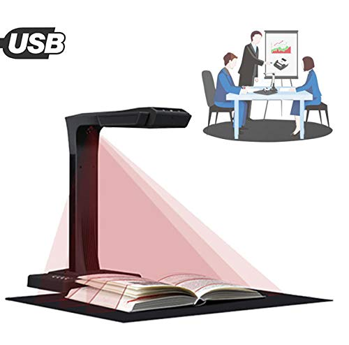 Buy Discount EnweTon Document Cameras Scanner, Professional OCR Cameras with Auto-Flatten & Deskew T...