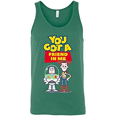 You Got A Friend in Me - Buzz and Woody Unisex Tank