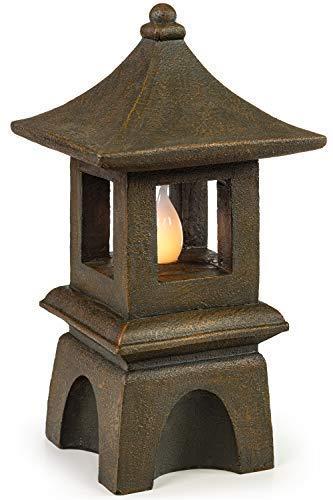 VP Home Pagoda Solar Powered LED Outdoor Decor Garden Light