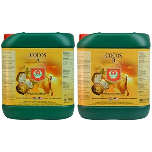 City Hydroponics House and Garden Coco 5L A and B Base Nutrient