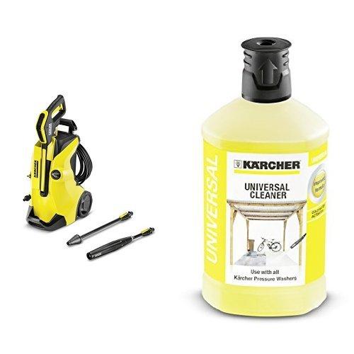 Kärcher K4 FC - Hidrolimpiadora + 6.295-755.0 accesorio de limpieza a presión - accesorios de limpieza a presión (, K 2 Home K 2 Basic K 2 Compact Home K 2 Premium Home K 3 Home K 4 Compact K 4 Compact Home K 4 Home, Negro, Color blanco)