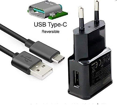 Theoutlettablet Cargador de Pared con conexión Type-C - Charger Compatible con Sony Xperia XZ3 / XA2 Plus / XA2 Ultra / XA2 / L2 / R1 Plus