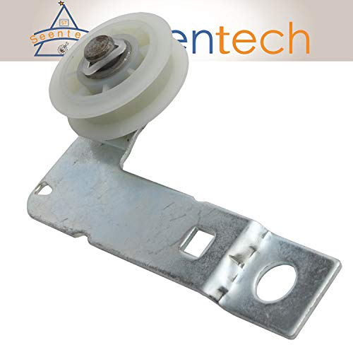 W10837240 Dryer Idler Pulley with Bracket: Exact Fit For Whirlpool Kenmore Maytag Dryer Replace 279640 W10118756 W10547290 PS11726337