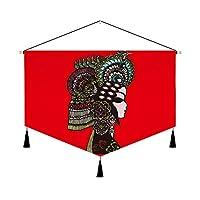 バナー インドア簡単吊装飾的なバナー寿司屋タペストリー (1, 幅65cm *高さ45cm)