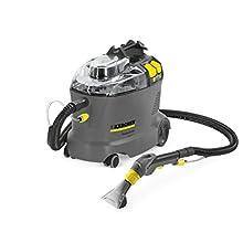 Kärcher Puzzi 8/1 Lava-aspiradora de pulverización para Limpieza de tapicerías y alfombras, Gris