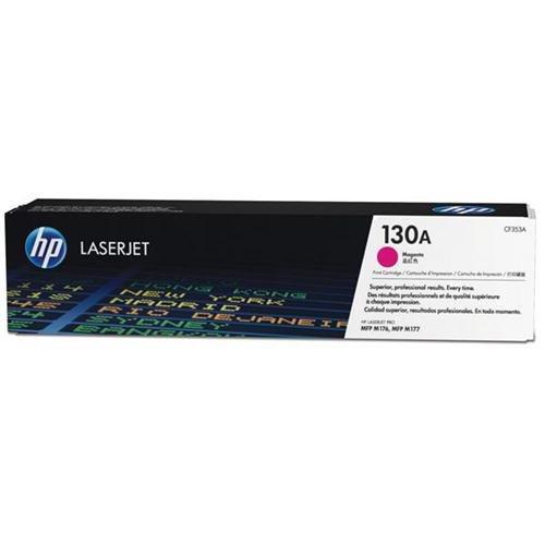 Hewlett Packard HP 130A cartucho de tóner láser Page Life 1000MAGENTA, CF353A 113883