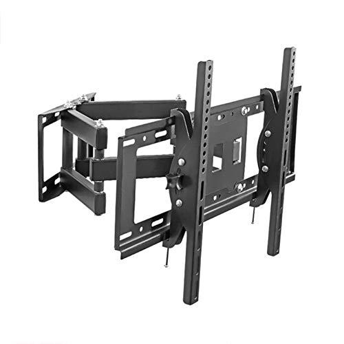 FGDSA Soporte de TV Soporte de Pared para TV Adecuado para TV de 40-75 Pulgadas Ángulo Ajustable -15 ° ~ + 15 Peso del cojinete de Doble Brazo Ultrafino 60 kg
