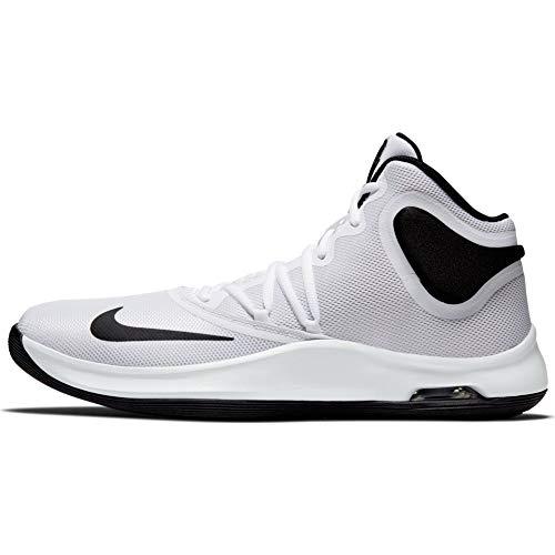 Nike Air Versitile IV, Zapatillas de Baloncesto Unisex Adulto, Blanco (White/Black 100), 42 EU