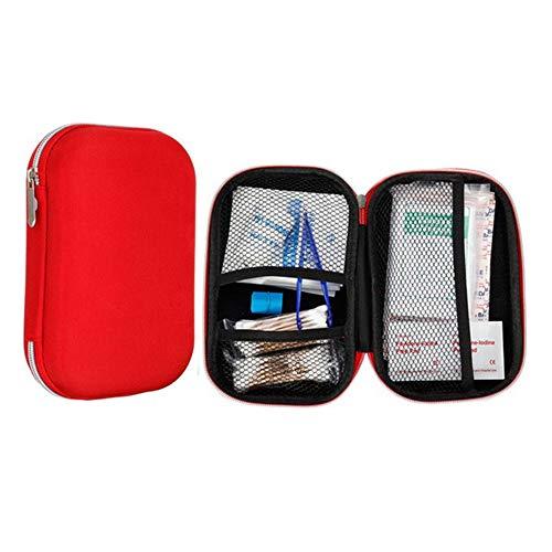 Yuan Ou Erste Hilfe Set Erste-Hilfe-Tasche Kit Camping Tragbare Outdoor Medical Pack Survival Rescue Box Wie Gezeigt 304Stk.