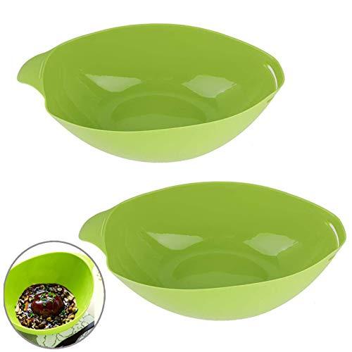Vaporera De Verduras Para Microondas Cuenco De Silicona Multifuncional Plegable Cuenco De...