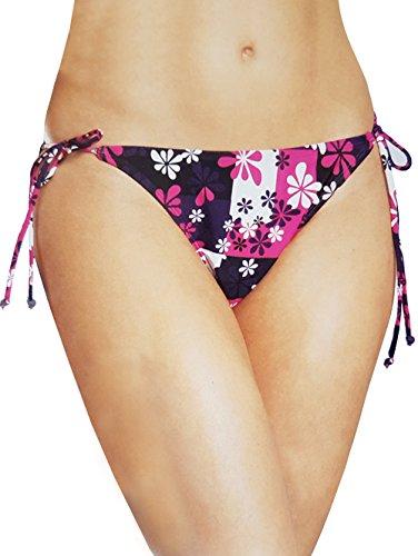 Esmara Damen Bikinislip Bikini Slips (36, Blümchen)