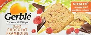 Gerblé Sablés Chocolat Framboise 140 g