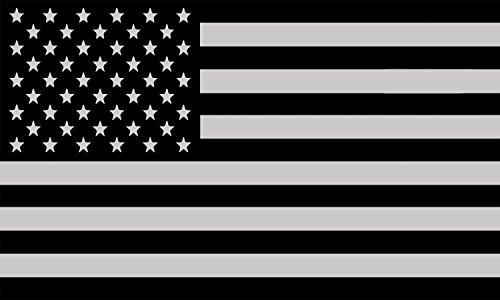 Subdued Tactical American USA Flag Sticker Patriotic United States Auto Car Decal Window Bumper US Military (10x6 Inch)