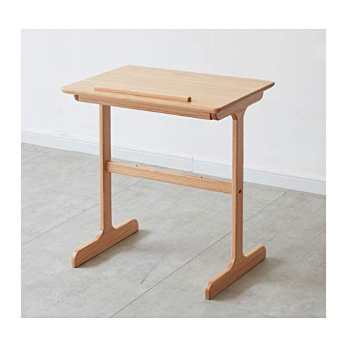 HONGFEISHANGMAO Side Coffee Table Solid Wood Sofa Side Table Small Apartment Living Room Lift Small Coffee Table Simple Modern Oak Corners And Sidewalls Can Be Removed Coffee Tea End Table