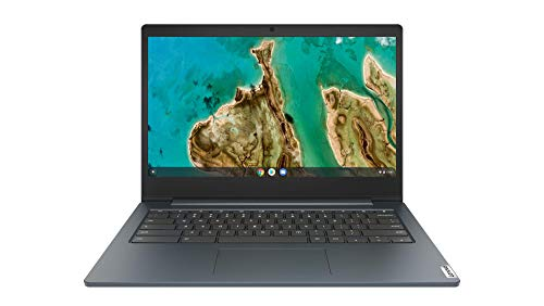 Lenovo IdeaPad 3 Chromebook 35,6 cm (14 Zoll, 1920x1080, Full HD, entspiegelt) Ultraslim Notebook (Intel Celeron N4020, 4GB RAM, 64GB eMMC, Intel UHD-Grafik 600, ChromeOS) dunkelblau