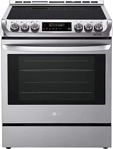 LG LSE4611ST 6 3 Cu Ft Stainless Slide In Electric Convection Range product image