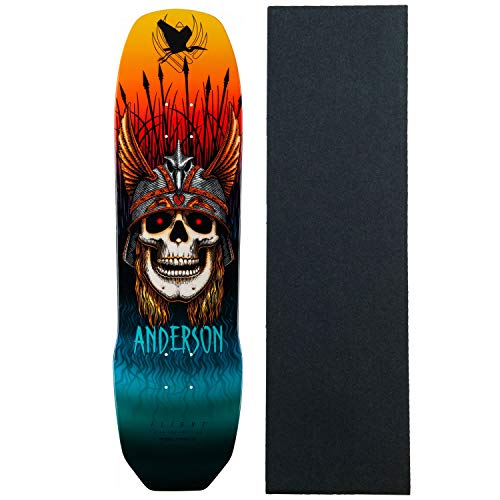 Powell Peralta Skateboard Deck Pro Model Andy Anderson Heron Flight 8.45