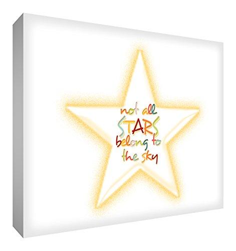 Feel Good Art (12 x 16 inch niet alle sterren Belong to the Sky