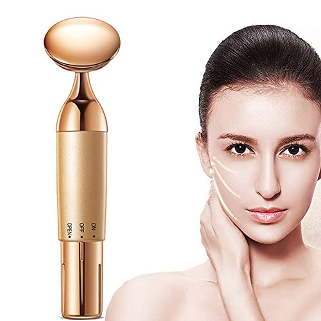 真鍮ゲスト補助RF lifting device Facial beauty massager facial lifting firming wrinkle removal eye bags roller