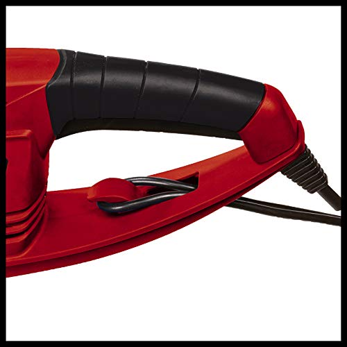 Einhell 3403742 GC-Eh 5747 Tagliasiepi Elettrico, 3100 G, Nero/Rosso, 570 W