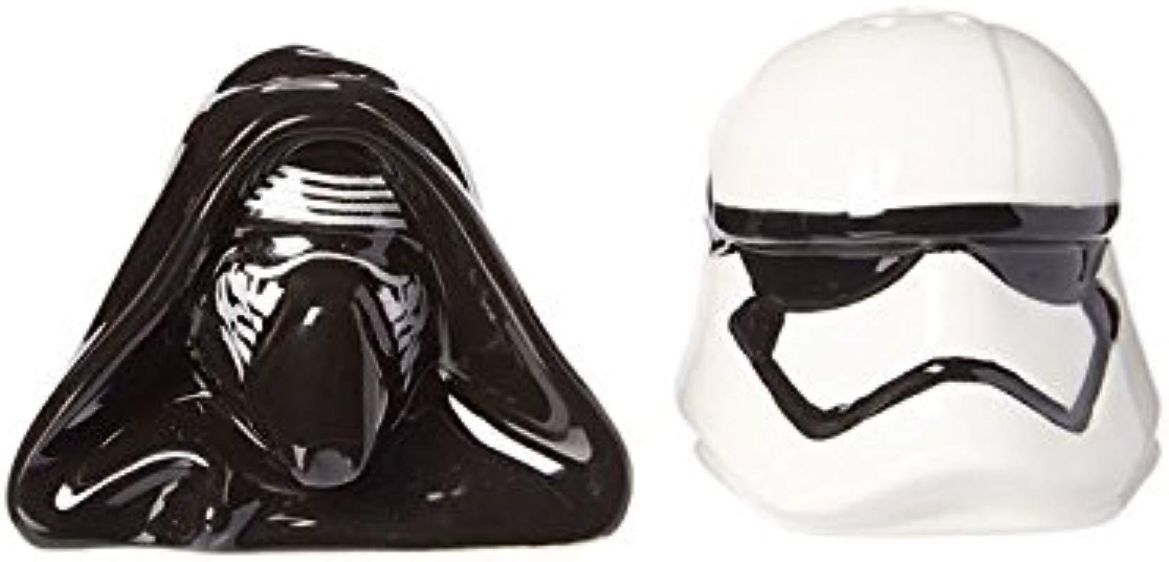 Seven20 Star Wars Kylo Ren And Stomtrooper Salt And Pepper Shaker Set None