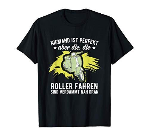 Geschenk-Idee für Moped, Scooter-Fahrer, Motorroller Fans I T-Shirt
