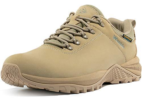 Wantdo Men's Waterproof Hiking Shoe Light Khaki 10 M US