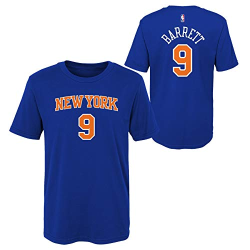 Outerstuff RJ Barrett New York Knicks #9 Royal Blue Youth Player Name & Number T-Shirt (Medium 10-12)