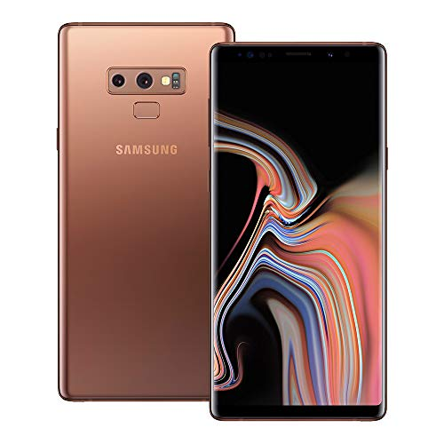 Samsung Galaxy Note 9 (SM-N960F/DS) 6GB / 128GB (Metallic Copper) 6.4-inches LTE Dual SIM (GSM ONLY, NO CDMA) Factory Unlocked - International Stock No Warranty