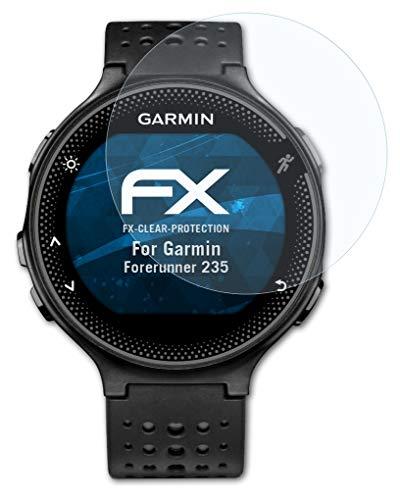 atFoliX Film Protection d'écran Compatible avec Garmin Forerunner 235 Protecteur d'écran, Ultra-Clair FX Écran Protecteur (3X)