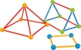 Explore the concept of angles by constructing 2D and 3D shapes. Great manipulative for boosting Imagination of children. Endless hours of entertainment for children. Set of 330Pcs. Toatl No. of balls 80 Pcs in 4 colours. Total no. of rods 250 Pcs in ...