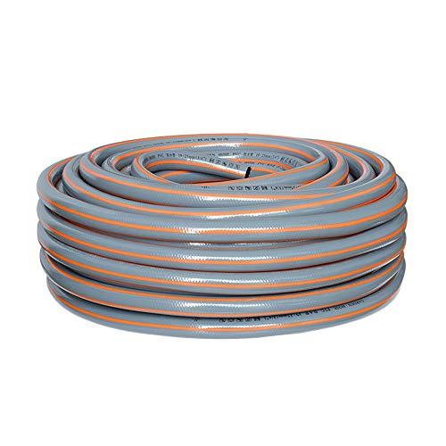 HAIYU- 3/4 Inch Thuis PVC Waterslang Buis 19mm Flexibele Tuinslang, 3 Laag Structuur Ideaal voor Tuin Irrigatie/Wassen/Thuis Reinigen, Gemakkelijk Opslag
