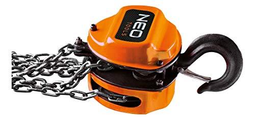 Neo Tools Profi 2 t Kettenzug 3 m Seilzug Flaschenzug Hebelzug Hebezug Kettenflaschenzug