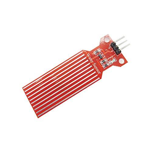 MFMYUANHAN 5 Stück Regen-Wasserwaage Sensor Modul Erkennung Flüssigkeit Oberflächentiefe Höhe für Arduino