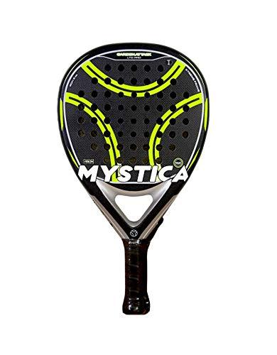 Pala Mystica Carbon Attack LTD Pro 2021, Pala de Pádel de Carbono para Jugadores con Nivel de Juego Profesional Avanzado