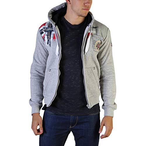Geographical Norway Maglie, Felpe Uomo BLU (Fespote100_Man)