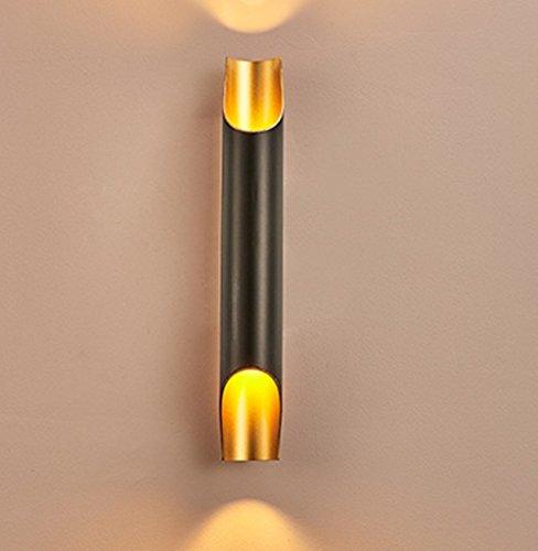 Moderne Minimaliste Corridor En Aluminium Tube Mur Lampe Chambre Restaurant Café Bar Club Mur Lampe , 1
