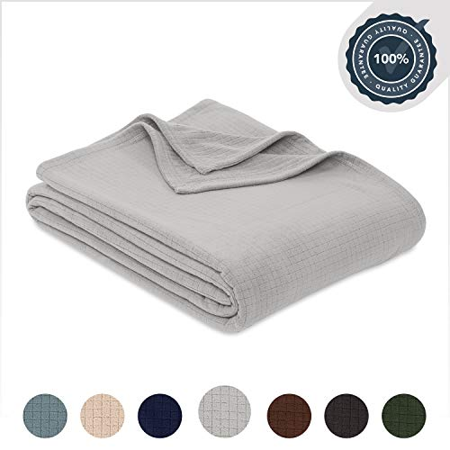 Berkshire Blanket Polartec Softec Microfleece Breathable High Warmth Performance Fleece Blanket, Microchip, Full/Queen