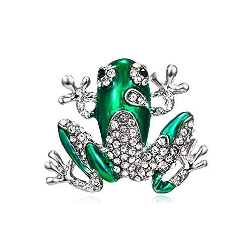 KXBY broche kristallen libel broches voor vrouwen Pins goudkleur strass revers pin sjaal broche broche 2