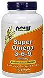 Now Foods Super Omega 3-6-9, 1200 mg - 180 cápsulas 180 Unidades 360 g