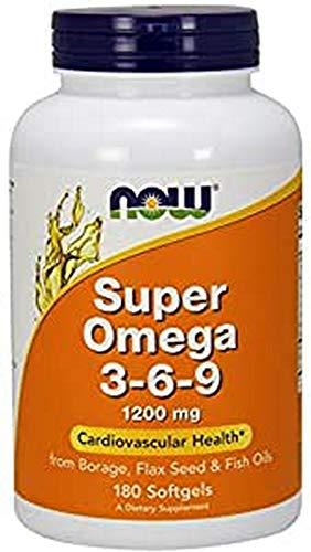 NOW Super Omega 3–6, 9, 180kapsulen