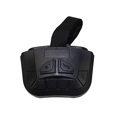 YHAAVALE Car Police Siren Steering Wheel Remote Control,Wireless Siren Control,Suitable for All Wireless Police Siren PA System