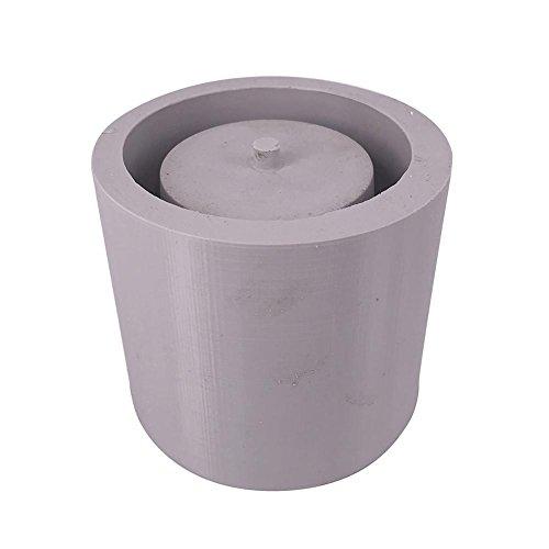 Round Coque en silicone Cactus Pot de fleurs Moule en céramique Clay Craft Jetant béton Tasse Moule à blocs Plante Succulente Fleur Pot Silicone Moule