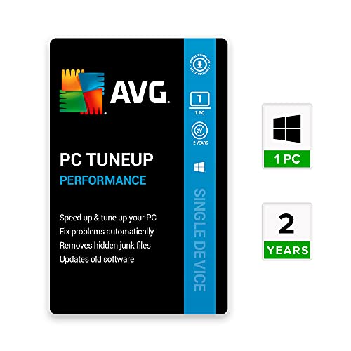 AVG PC TuneUp (1 User   2 Years) (Email Delivery in 2 hours- No CD)