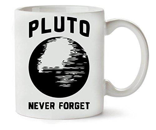 MugsWorld Pluto We Will Never Forget You Klassieke theekopje koffiemok