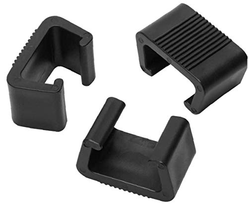 Runfun Clips De Muebles De Mimbre Al Aire Libre Patio Clip De Plástico Sofá Conectar Abrazaderas para Sillas Muebles De Jardín Sofá Sofá 10pcs 6cm Tiesto