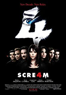 Scream 4 Poster Movie K 11 x 17 Inches - 28cm x 44cm David Arquette Neve Campbell Courteney Cox Emma Roberts Hayden Panettiere Movie MasterPoster Print, 11x17