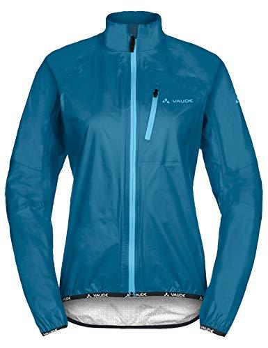 VAUDE Damen Drop Jacket III Regenjacke für Radsport, kingfisher, 36, 049643320360