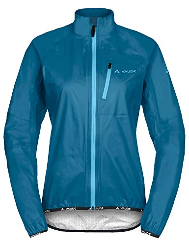 VAUDE Damen Drop Jacket III Regenjacke für Radsport Jacke, Kingfisher, 34