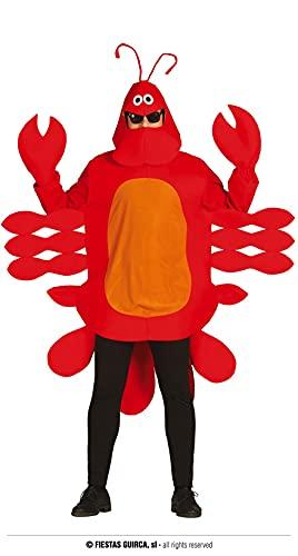FIESTAS GUIRCA Disfraz de Cangrejo Hombre Adulto Talla L 52-54